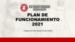 Plan de Funcionamiento 2021 para apoderados